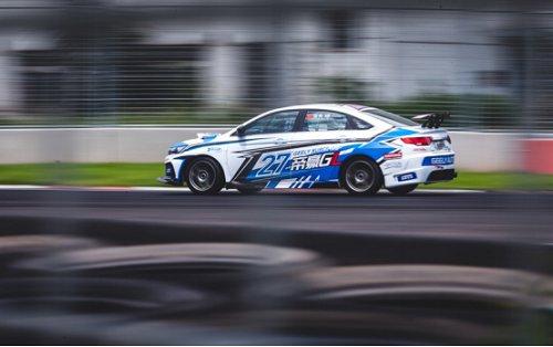 2019超吉联赛吉速挑战赛在秦皇岛首钢赛车谷举办