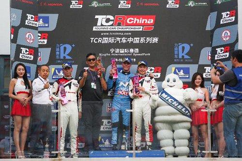 现代i30NTCR在宁波赛道掀起高性能赛车运动热潮