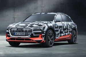 日内瓦车展:预告品牌首款纯电动车登场,Audi e-tron原型车亮相