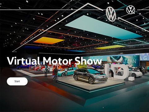 疫情带动汽车线上消费,VW福斯汽车打造线虚拟车展找到更多潜在买家